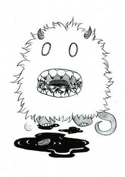 Fuzzy - Inktober 21