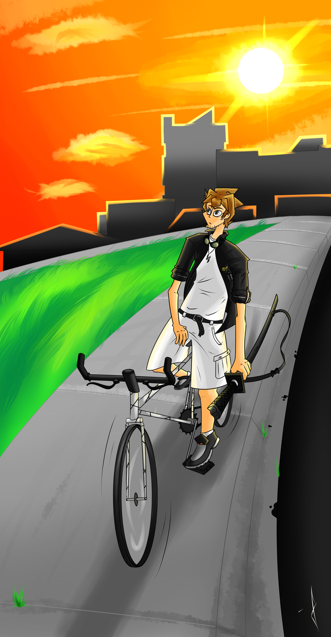 End of Summer Bike Ride by UltimaZix