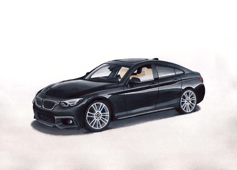 bmw 430d gran coupe by wingedjedi on deviantart. Black Bedroom Furniture Sets. Home Design Ideas