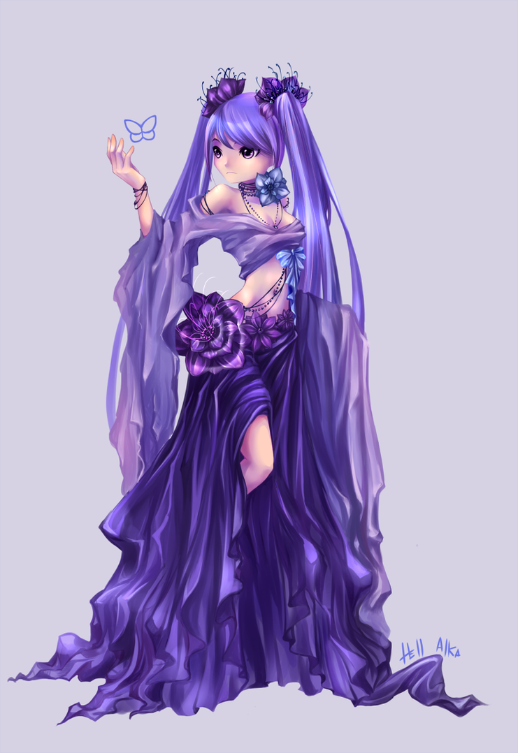 Anemone by Hell-Alka