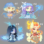 [9] [CLOSED] Auction - chibi adopts winter magic!