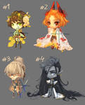 [19] [CLOSE] Auction - chibi boys