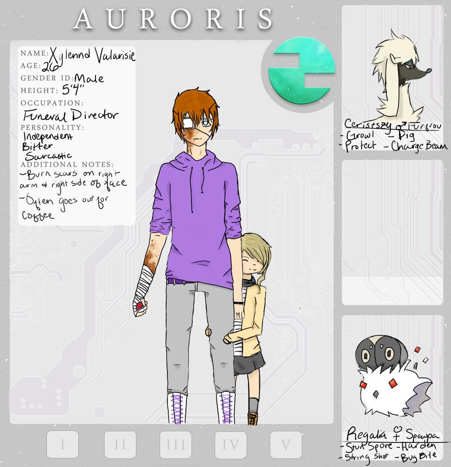 Auroris NPC - Xylennd Valarisie by Jay-M-0321
