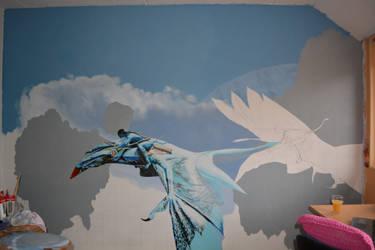 Avatar mural - update 6