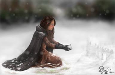 Castle of snow