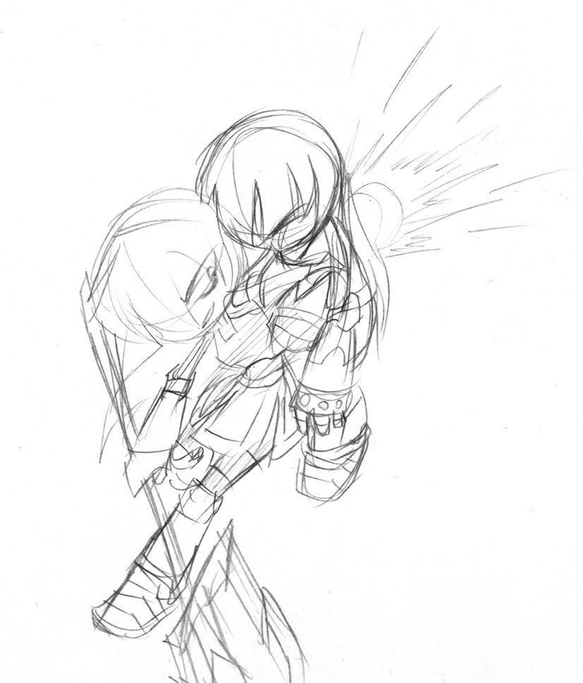 Sadako vs Red 2 by MeCra