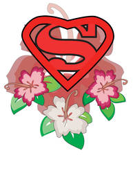 Superman tattoo design 1