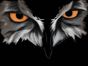owl. [WIP] by Veowulf