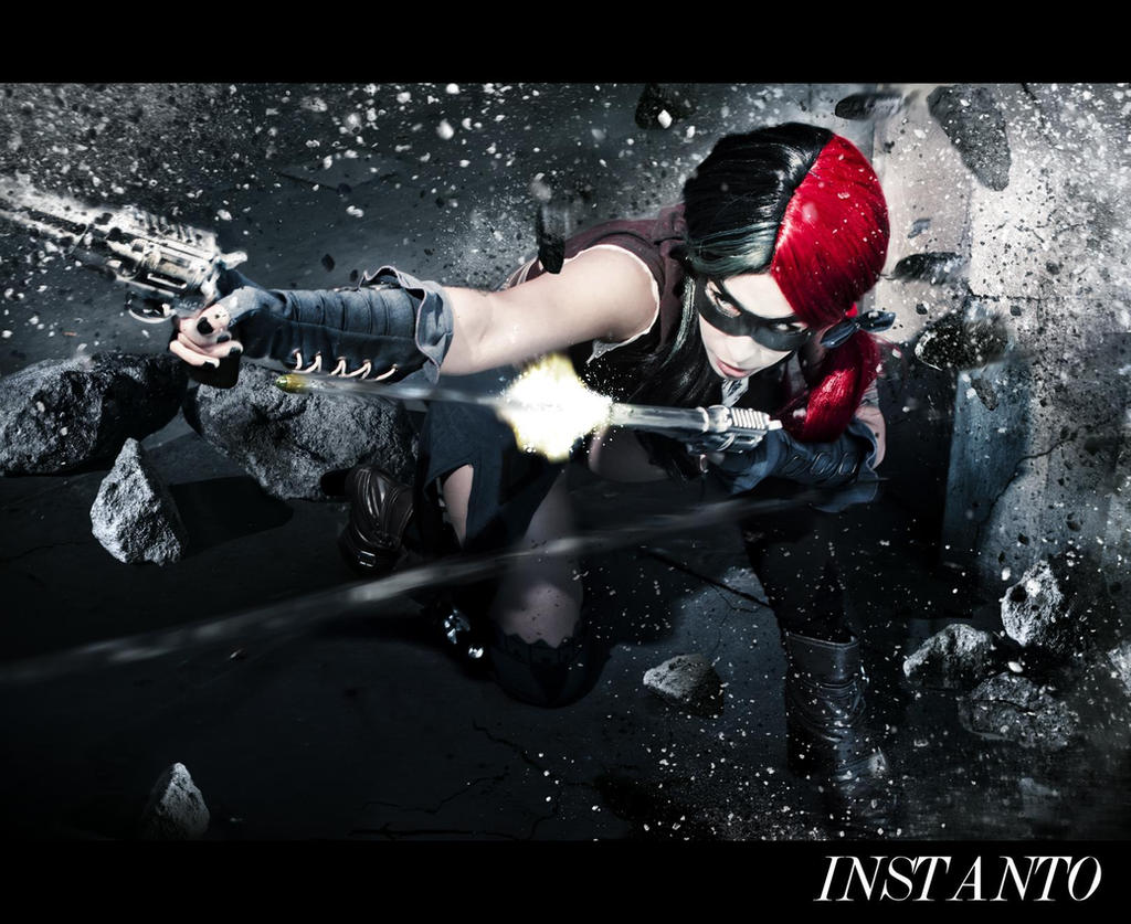Harley Quinn INJUSTICE: Gods Among Us Cosplay by Candustark