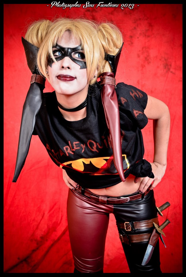 Harley Quinn INJUSTICE - Insurgency Cosplay by Candustark