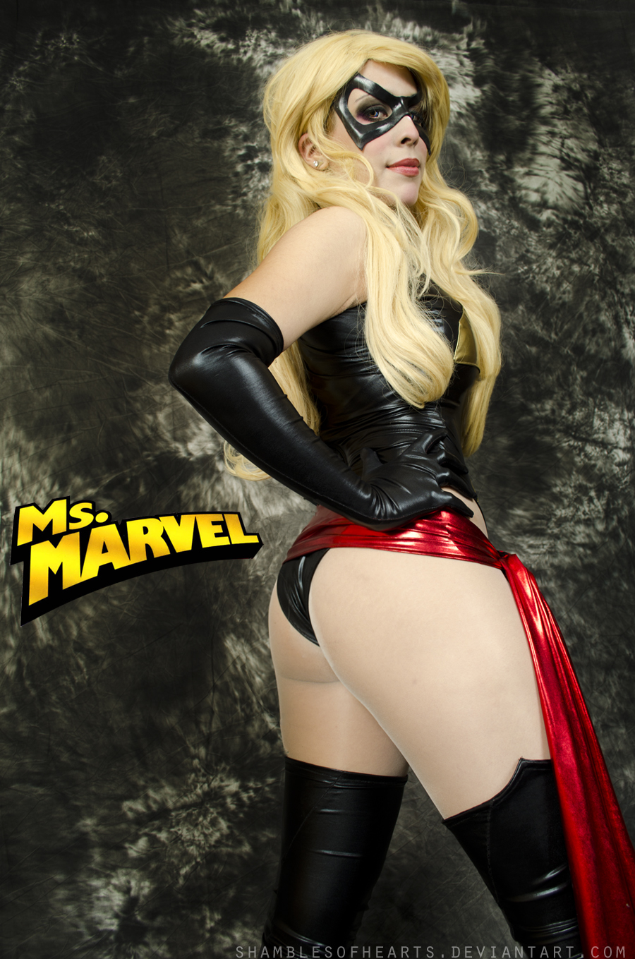 Miss Marvel Cosplay by Candustark