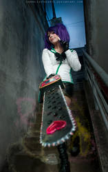 Juliet Starling | Lollipop chainsaw Cosplay by Candustark