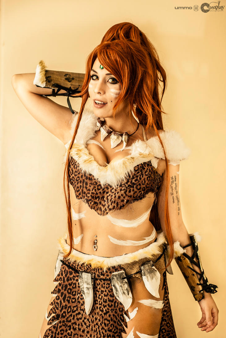 NIDALEE LEOPARD - LEAGUE OF LEGENDS COSPLAY by Candustark