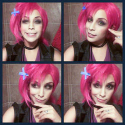 JINX SLAYER LEAGUE OF LEGENDS COSPLAY