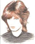 Portrait Sketch of Mick Jagger