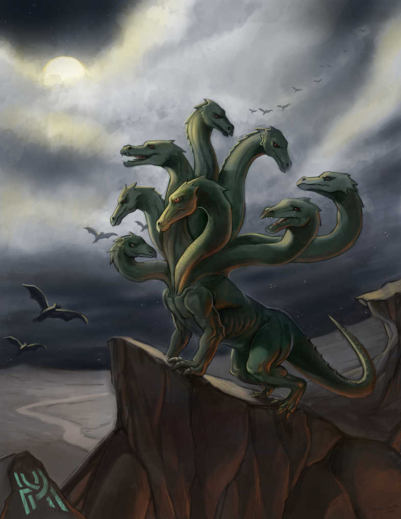 Hydra by marinasanc
