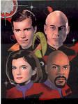 The Four Star Trek Captains