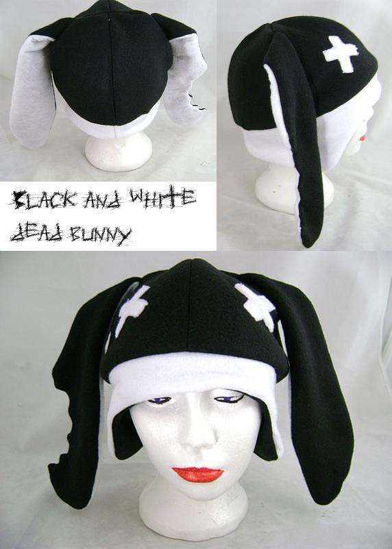Dead bunny hat by wolffang56