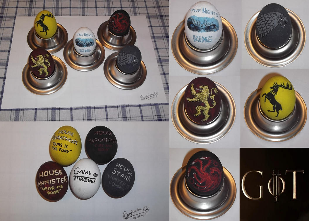 Game Of Thrones Easter Eggs by SofijaKpop18