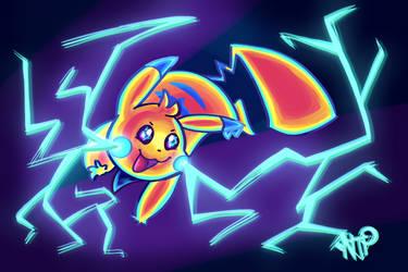 Nacho The Pikachu - Thunderbolt!