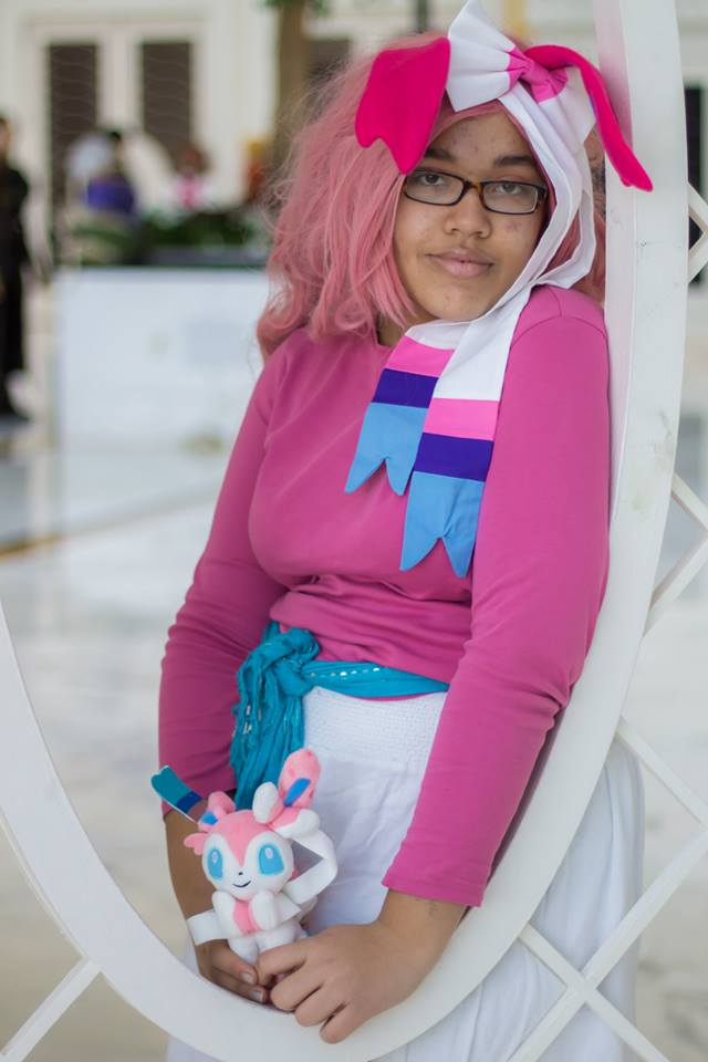 how to make sylveon costume
