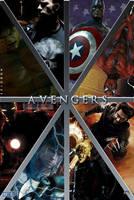 Avenger Movie Poster by hobo95