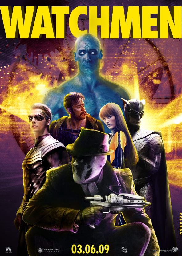Image result for Watchmen 2009 poster