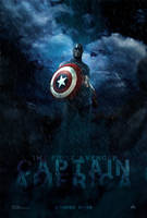 Captain America Poster by hobo95