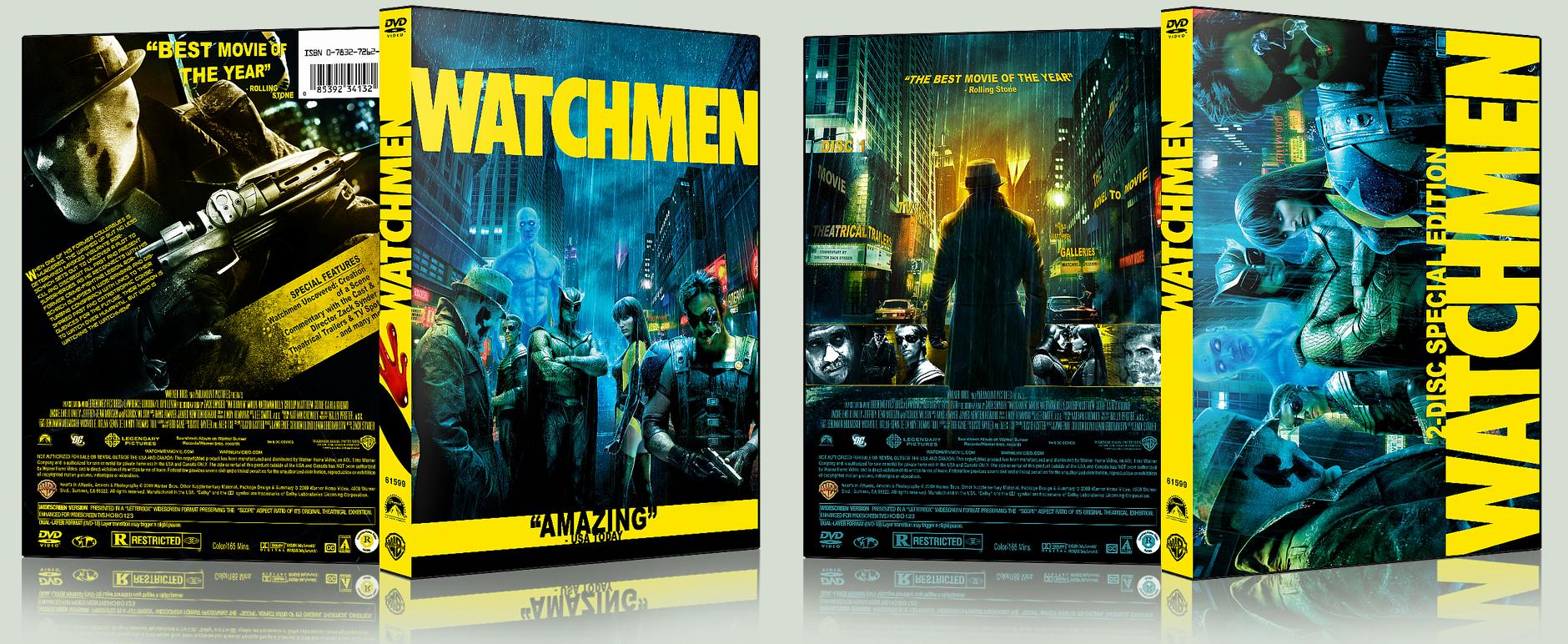Watchmen DVD Covers by hobo95 on DeviantArt