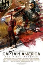 Captain America Movie Poster 2 by hobo95