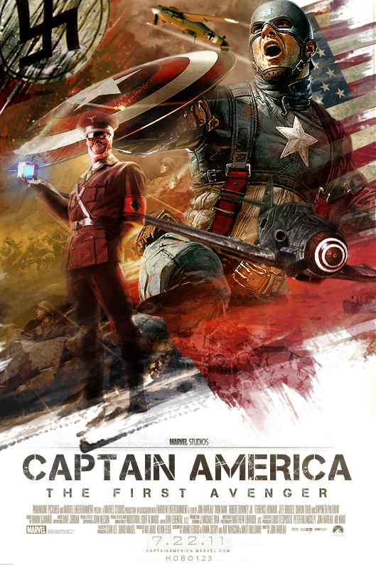 Captain America Movie Poster 2 by hobo95