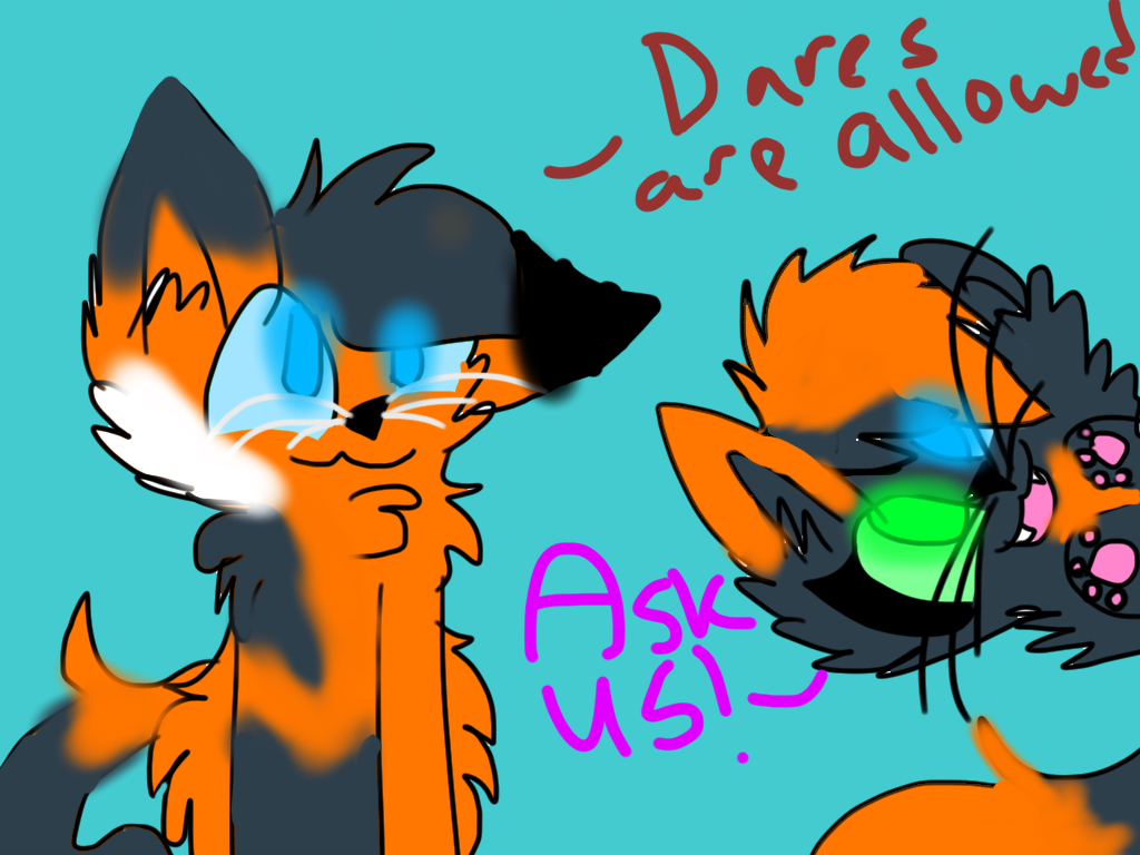 Ask or Dare ( Bluestar and Fireheart's kits? ) by TheFloweyfanclub