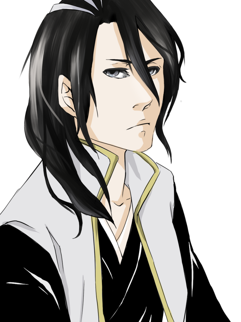 Drawing for a friend: Byakuya by kazutera