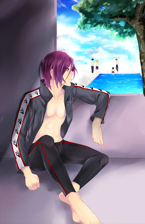 I want to swim by kazutera