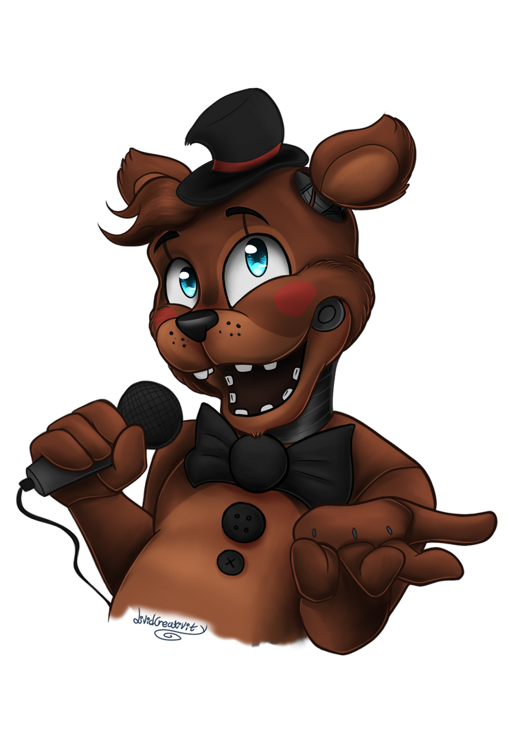 FNAF - Toy Freddy by LividCreativity