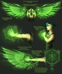 Mordecai's magic (Concept art)