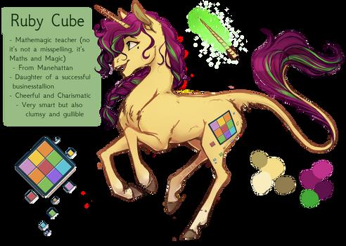 Ruby Cube Ref. sheet