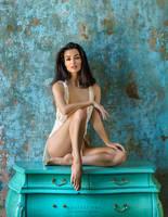sitting ona comode by yuribrut