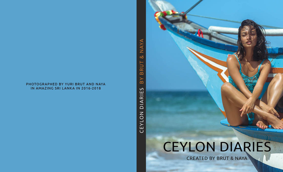 Ceylon Diaries Cover 1 by yuribrut