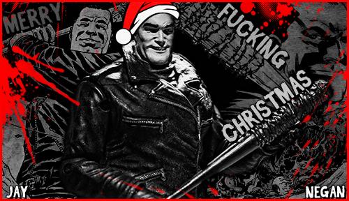 The Walking Dead Negan Wallpaper: The Walking Dead: A Very Negan Christmas By J-Nigma On