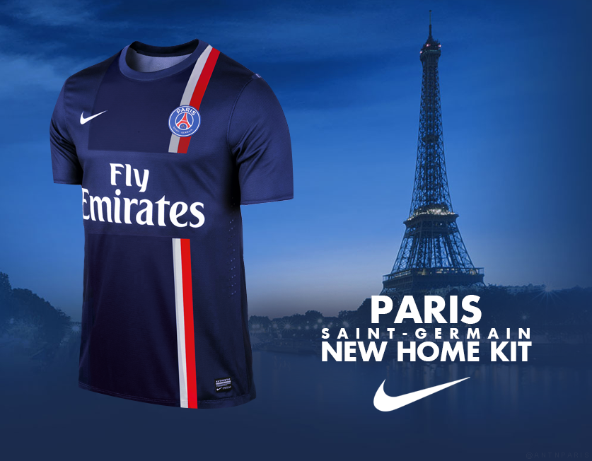 PSG Kit 2014 2015 NIKE AD By Evert0z
