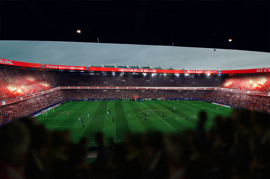 Parc des princes 2020 by evert0z on deviantart for Porte 0 parc des princes
