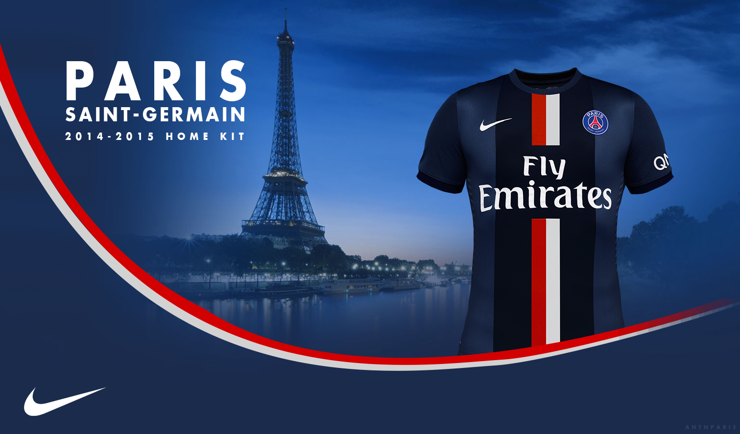 AD PSG New Home Kit 2015 By Evert0z On DeviantArt