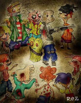 Ed, Edd y Eddy zombie