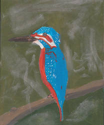 Kingfisher (Special Painting)