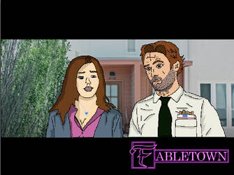 Fabletown - Keira Swan and Bigby Wolf by KeiraStarlight