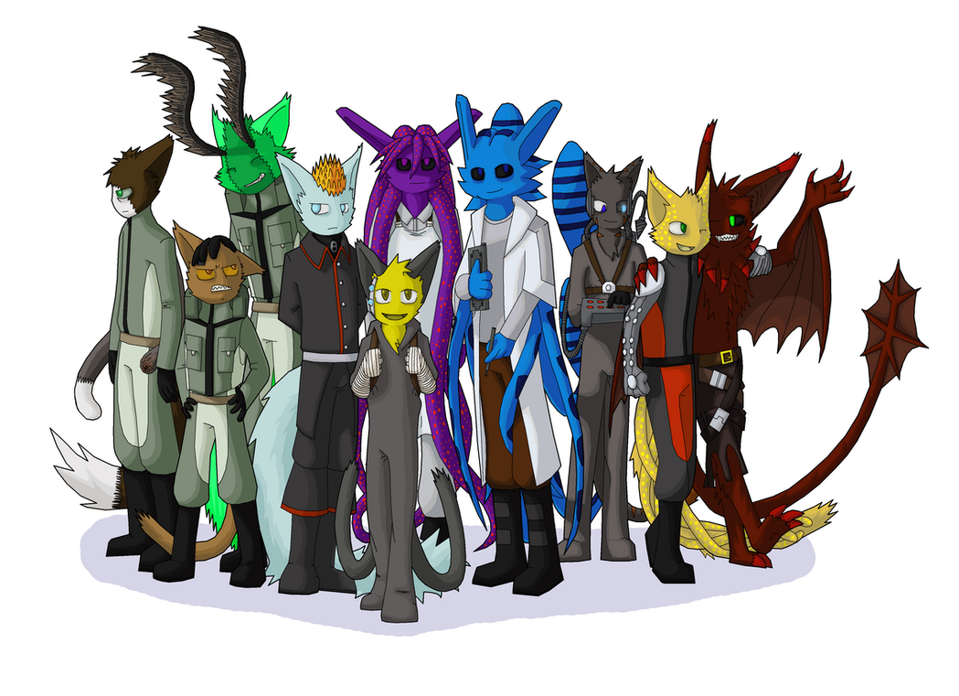 The Science Crew Assembled by Se05239