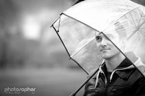 Under my Umbrella by photosopher