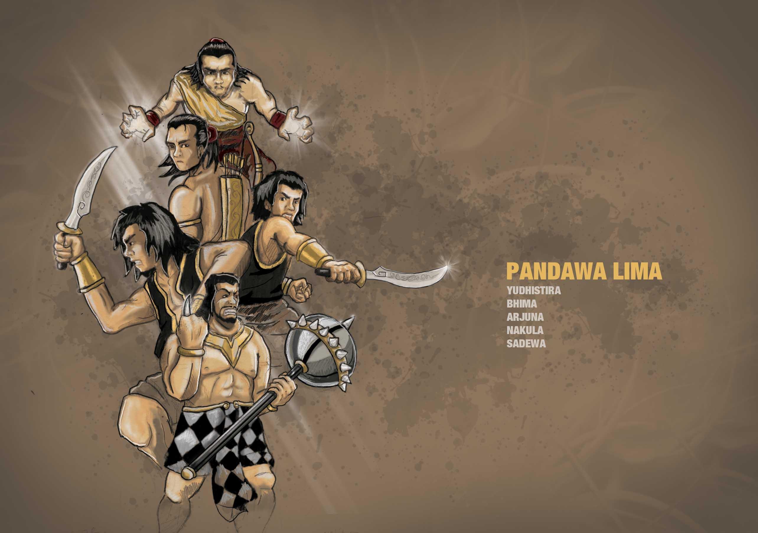 Wayang Pandawa Lima