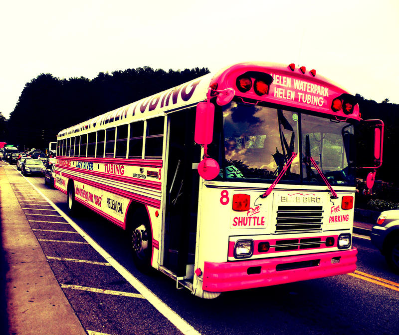 the pink bus by JephreyHowes